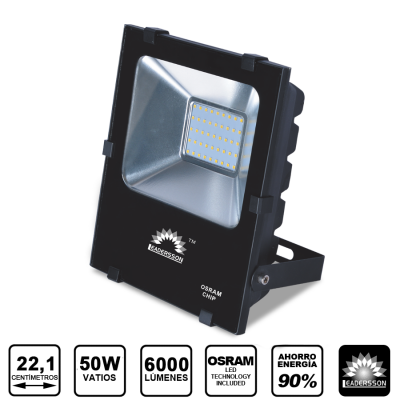 Projector LED BLACKS 50W 5 Anos de Garantia
