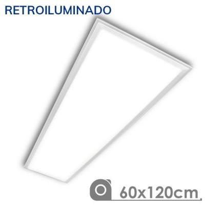 Painel LED 1200x600 90W Branco Retroiluminado
