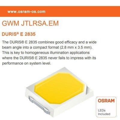 Projector LED 100W EVOLUTION IP65 Osram Chip