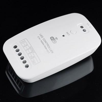 Controlador  RGBW / RGB + CCT, WiFi / Bluetooth APP, Alexa Voice Control