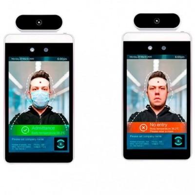 Módulo de Control Acessos com Reconhecimento facial e Medição de Temperatura