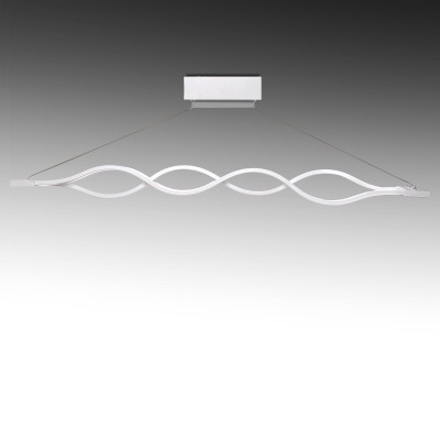 "Lâmpada Suspensa LED ""LEILA"" 2 x 24W"