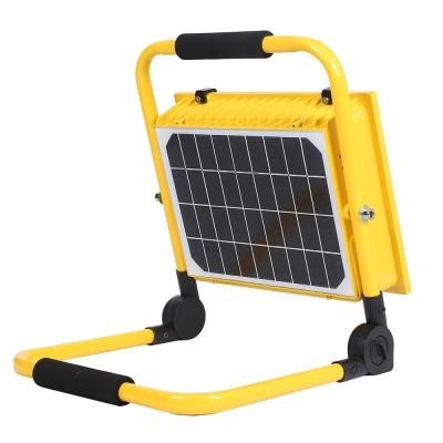 Projetor LED  100W solar com bateria recarregável