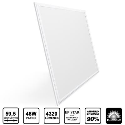 Painel LED 600x600 48W Branco SATURN