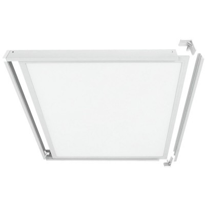 ARO EXTERIOR  P/ PAINEL 600x600 Branco