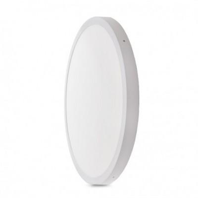 Painel LED Saliente Redondo 48W Ø605mm