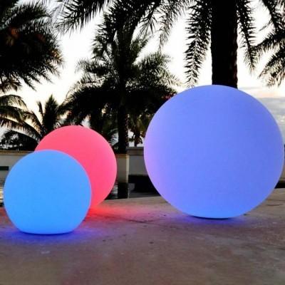 Esfera LED RGBW 30cm Recarregável