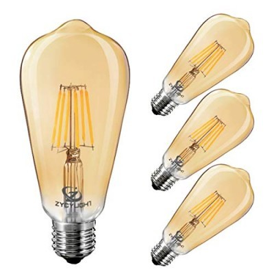 Lampada LED ST64 E27 6W Filamento