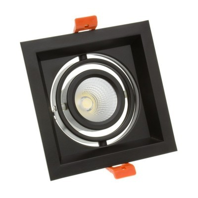 Downlight LED CREE-COB Direccionável Madison Preto 10W