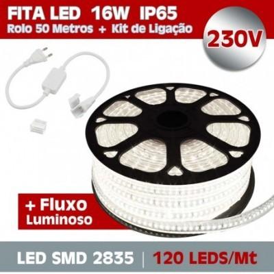 Fita LED 230V 16W 2835-120 LEDs