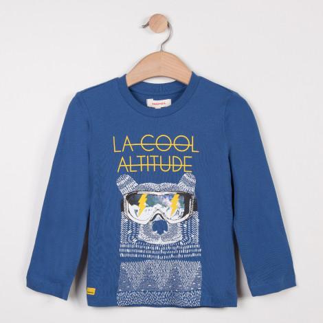 Camisola azul algodão Catimini