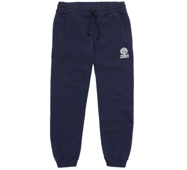 Calça desportiva azul marinho Franklin & Marshall