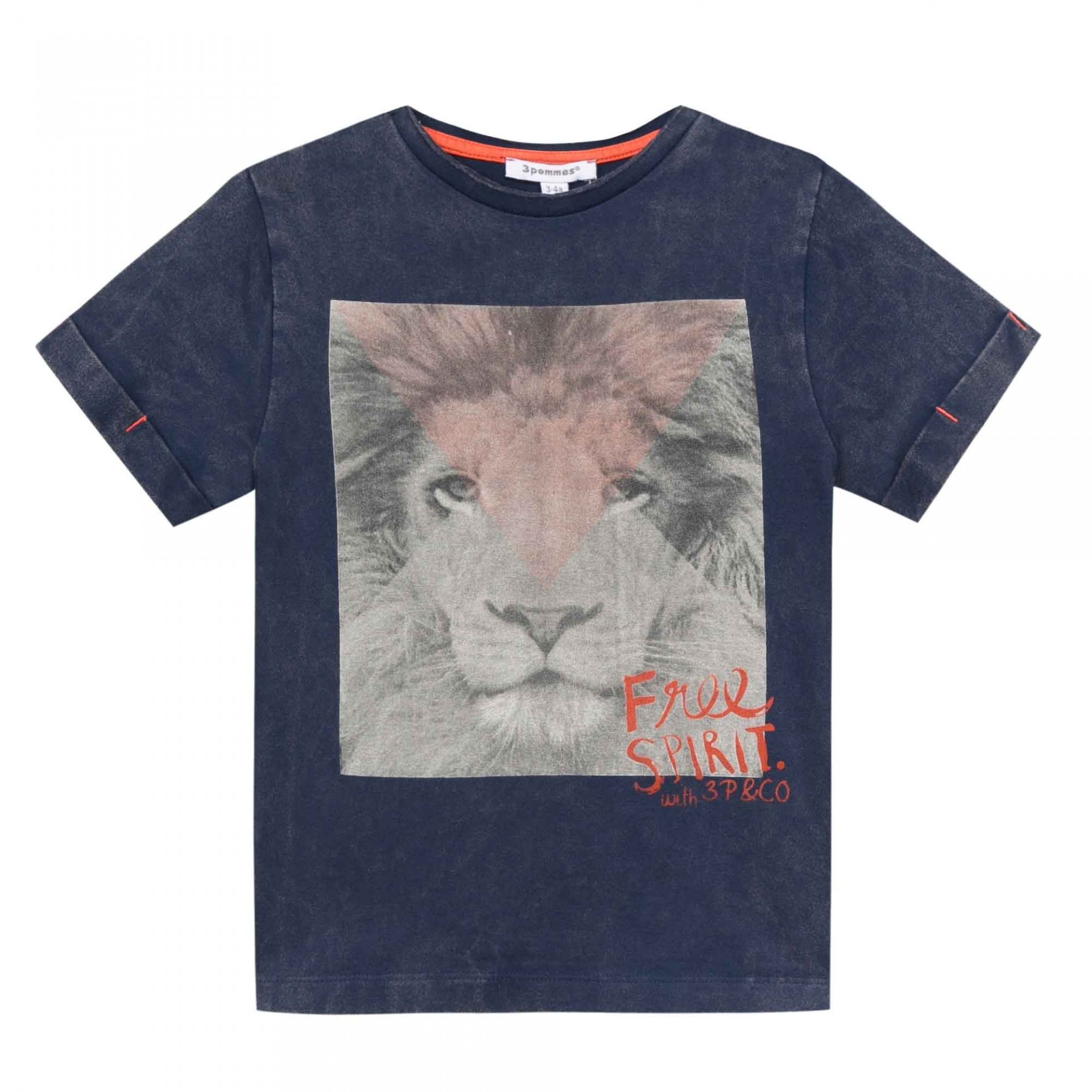 T-shirt leão 3pommes