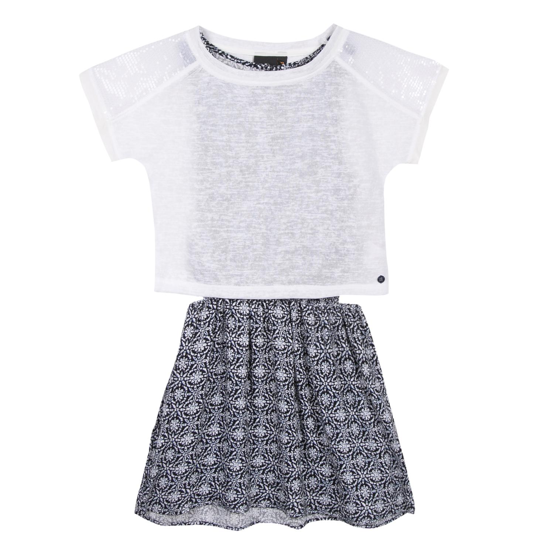 2 in 1 vestido + t-shirt Beckaro