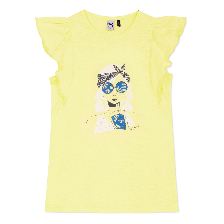 T-shirt amarela boneca 3pommes