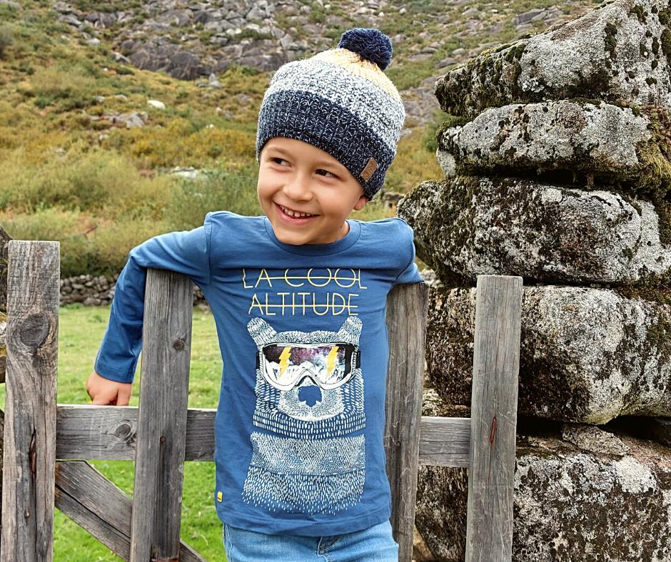Camisola infantil de algodão Catimini®️