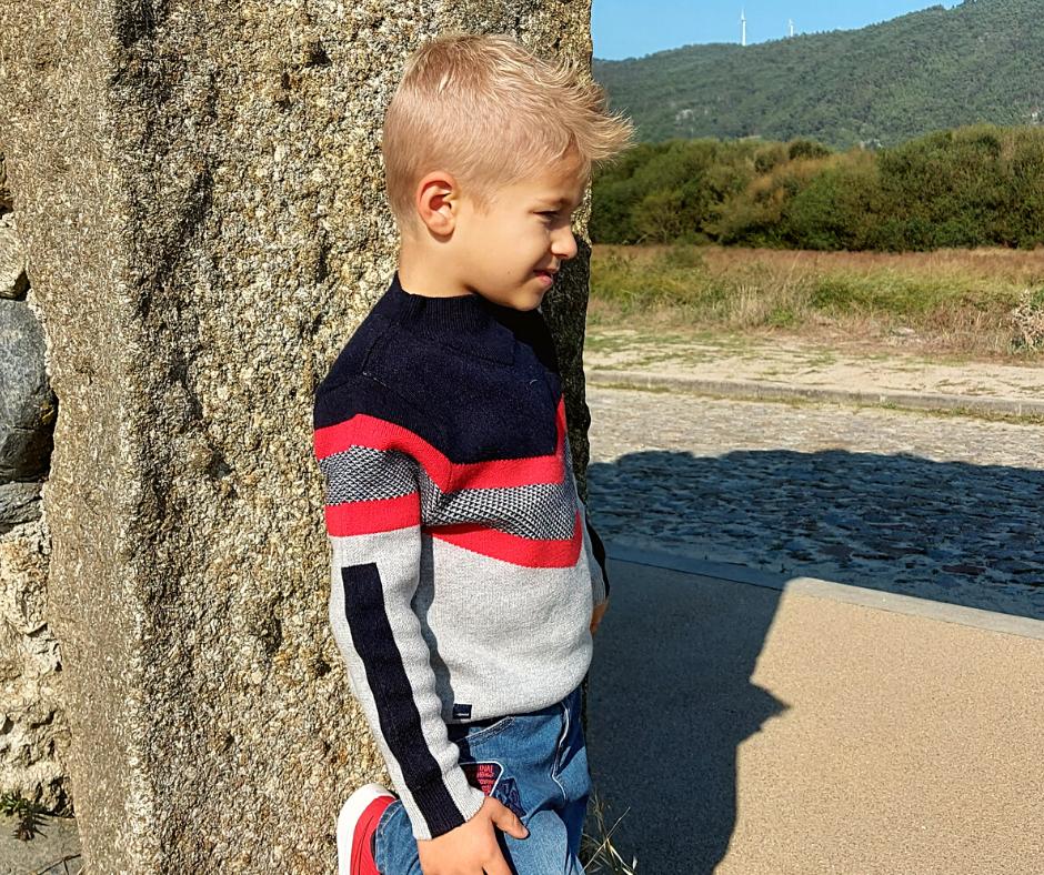 Camisola infantil manga longa Catimini ®️