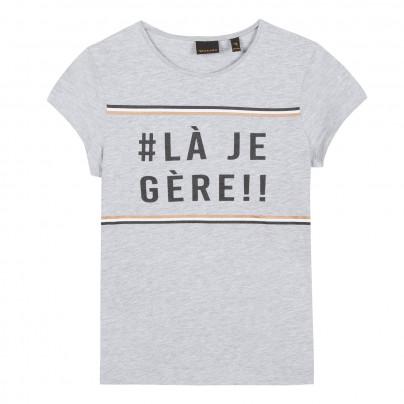 T-shirt cinza Beckaro