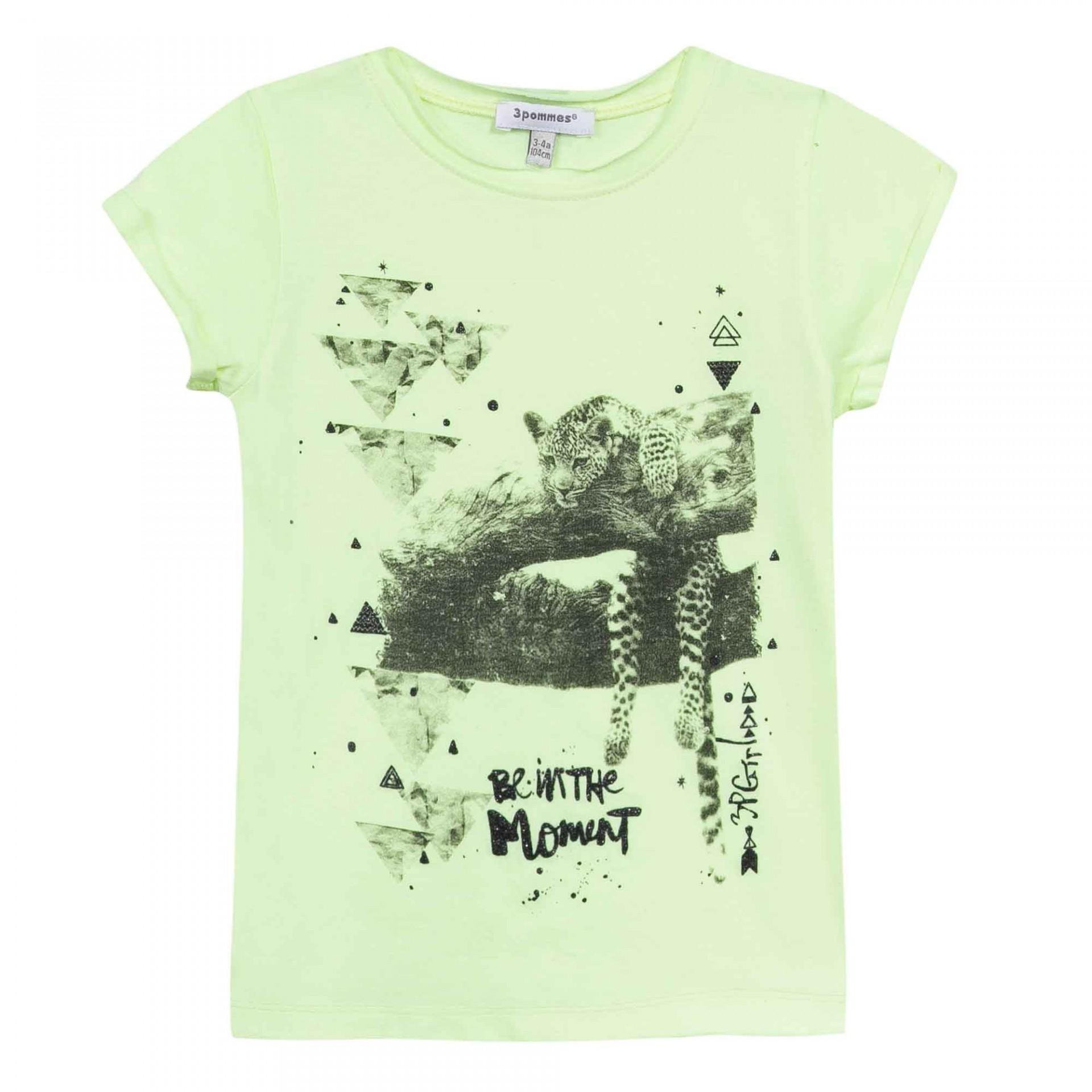 T-shirt com estampa tigre 3pommes