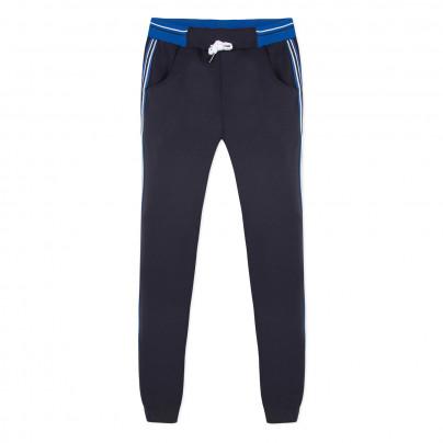 Calça desportiva de adolescente azul marinho