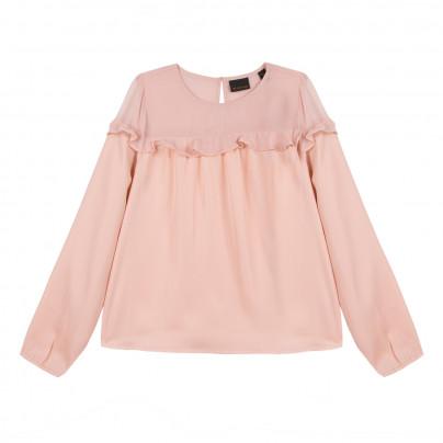 Blusa fluída rosa Beckaro