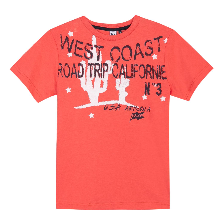 T-shirt laranja 3pommes