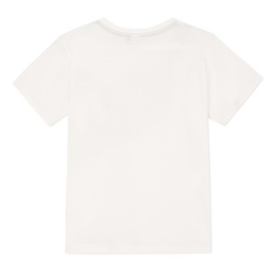 T-shirt decorada com uma bolsa de ombro 3pommes