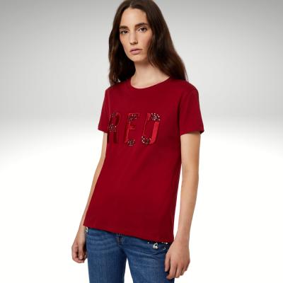 T-shirt bordô Liu Jo