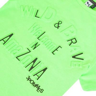 T-shirt neon 3pommes