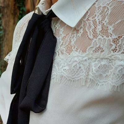 Blusa branca com renda Liu.Jo®️