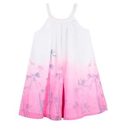 Vestido estampa flamingos 3pommes