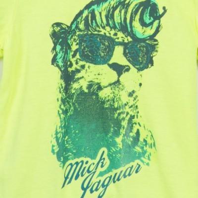 T-shirt amarelo limão Catimini