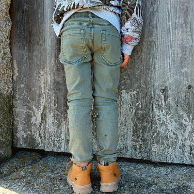 Calça verde infantil 3Pommes®️