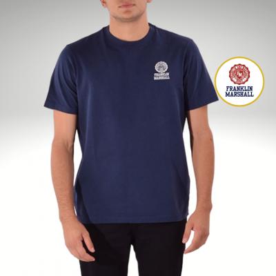 T-shirt azul marinho Franklin & Marshall