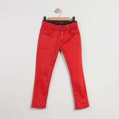 Calça skinny vermelha Catimini