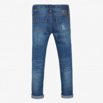 Jeans com bordado Catimini