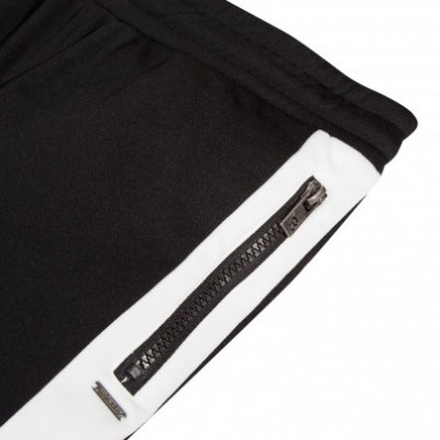 Calça desportiva com listra branca Beckaro