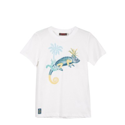 T-shirt branca Catimini