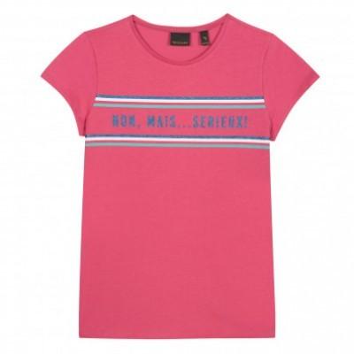 T-shirt rosa Beckaro