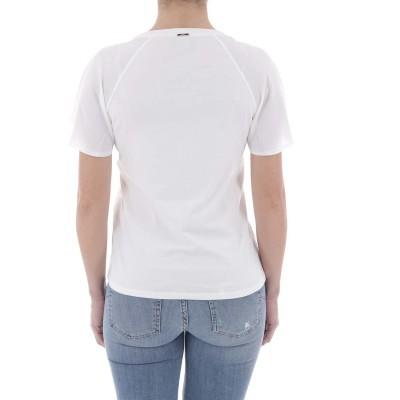 Blusa rendada branca Liu Jo