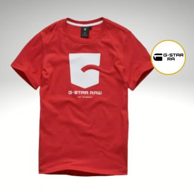 T-shirt vermelha G-Star Raw