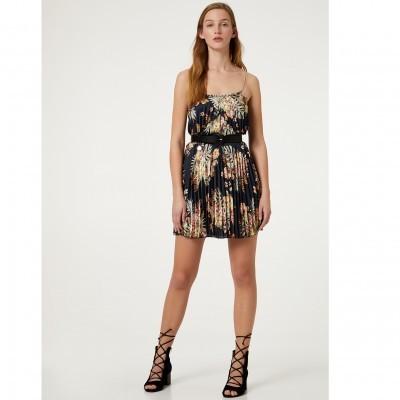 Vestido curto padrão tropical Liu Jo
