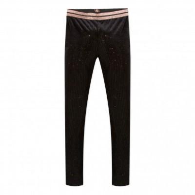 Calça legging infantil preta 3Pommes®️