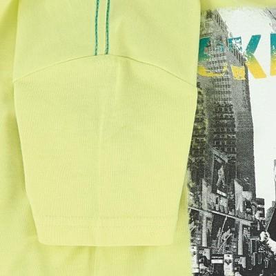T-shirt amarela 3pommes