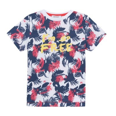 T-shirt floreada 3pommes