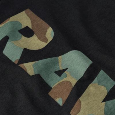 T-shirt preta camuflado G-Star Raw