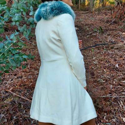 Casaco branco feminino Roberta Biagi®️