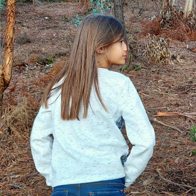 Camisola manga comprida infantil 3Pommes®️