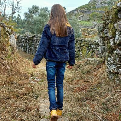 Calça jeans infantil feminina 3Pommes®️