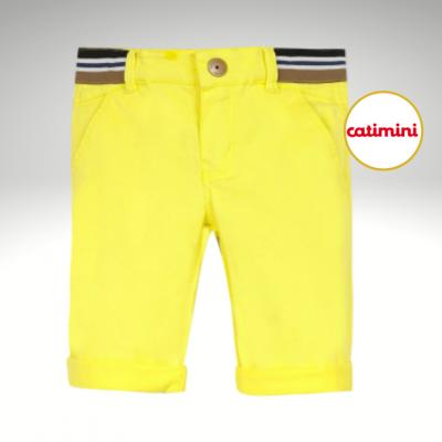 Calção amarelo Catimini